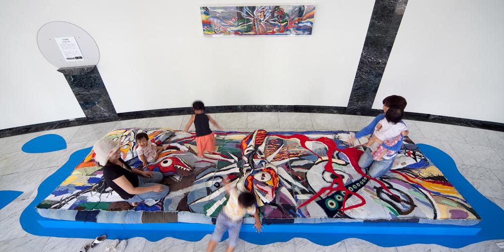 安部泰輔 太郎の泉 広島市現代美術館
